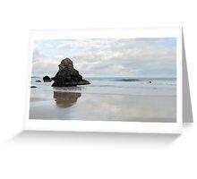 Sea Stack on Sango Beach Greeting Card