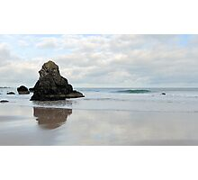 Sea Stack on Sango Beach Photographic Print