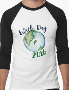Earth Day 2016 Men's Baseball ¾ T-Shirt
