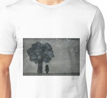 A Lonely Night - Watercolor Painting Unisex T-Shirt