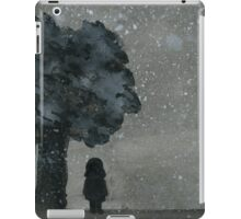 A Lonely Night - Watercolor Painting iPad Case/Skin