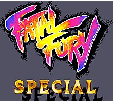 Fatal Fury Special (SNES Title Screen) Photographic Print