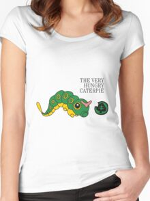 The Very Hungry Caterpie Women's Fitted Scoop T-Shirt