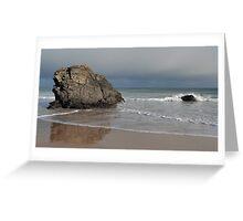 Rocks on Sango Bay Greeting Card