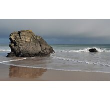 Rocks on Sango Bay Photographic Print