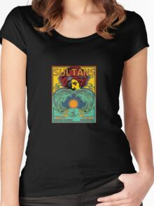 SULTANS OF SURF Women's Fitted Scoop T-Shirt