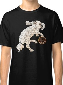 Long Life White Cloud Foo Dog Classic T-Shirt