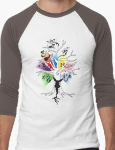 Tree of Eevee Men's Baseball ¾ T-Shirt