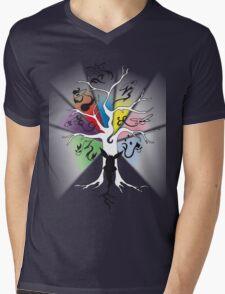 Tree of Eevee Mens V-Neck T-Shirt