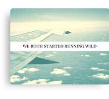 Running Wild Color Canvas Print