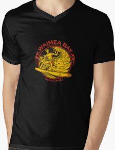 WAIMEA BAY Mens V-Neck T-Shirt