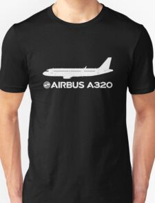 Airbus A320 Drawing Unisex T-Shirt