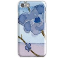Purple tree - Watercolor Painting iPhone Case/Skin