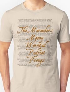 The Marauders Unisex T-Shirt