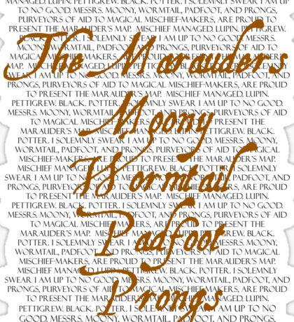 The Marauders Sticker