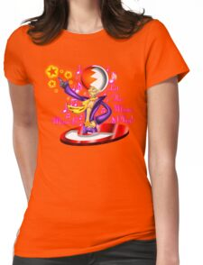 Let the Music Play! Womens Fitted T-Shirt