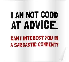 Advice Sarcastic Comment Poster
