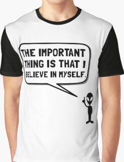 Alien Believe In Myself Graphic T-Shirt