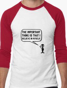 Alien Believe In Myself Men's Baseball ¾ T-Shirt