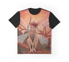 Autumnal Fairy Graphic T-Shirt