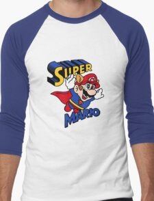 Super-Mario Men's Baseball ¾ T-Shirt