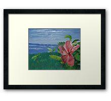 Paradise (Original Flower Oil Painting) Framed Print