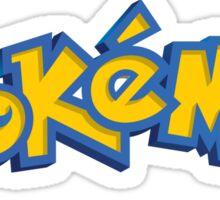 Pokemon (Pocket Monsters) Logo (English) Sticker