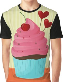 Let Them Eat Cupcakes Graphic T-Shirt