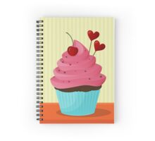 Let Them Eat Cupcakes Spiral Notebook
