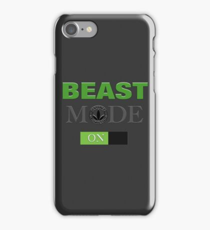 WellnessCoaches Beast Mode On Unisex iPhone Case/Skin