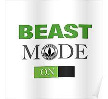 WellnessCoaches Beast Mode On Unisex Poster