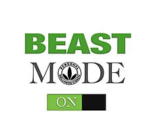 WellnessCoaches Beast Mode On Unisex Photographic Print