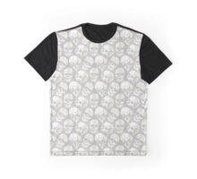 Skulls Pattern Graphic T-Shirt