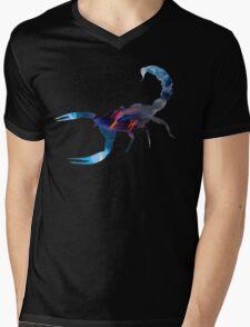 Scorpion Picture Fill Mens V-Neck T-Shirt