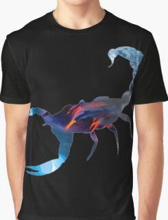 Scorpion Picture Fill Graphic T-Shirt