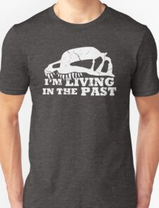 Living in the Past with Dilophosaurus T-Shirt