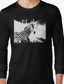 zebra love Long Sleeve T-Shirt
