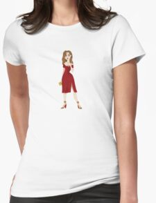 Champagne Pop Womens Fitted T-Shirt