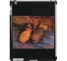 'A Pair of Shoes' by Vincent Van Gogh (Reproduction) iPad Case/Skin