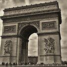 Arc de Triomphe by Brendan Buckley