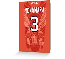 Gerry Mcnamara Syracuse Jersey Case Greeting Card
