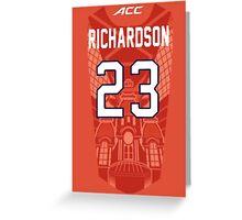 Malachi Richardson Syracuse Jersey Case Greeting Card