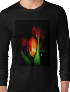 Happy Easter To My Red Bubbling Friends Long Sleeve T-Shirt