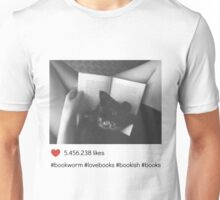 Milion likes book and cat Unisex T-Shirt