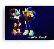 Mach Punk Canvas Print