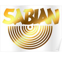 Sabian Cymbal Poster