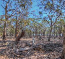 Australian gum forest Sticker