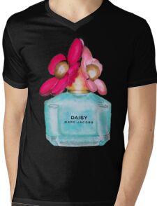 Daisy pink  Mens V-Neck T-Shirt
