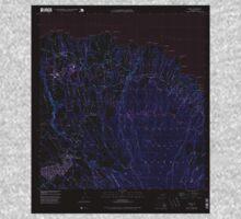 USGS TOPO Map Hawaii HI Haiku 349232 1992 24000 Inverted Kids Tee