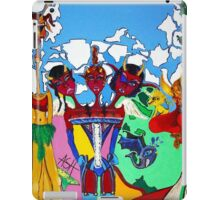the devil's triple daughter iPad Case/Skin
